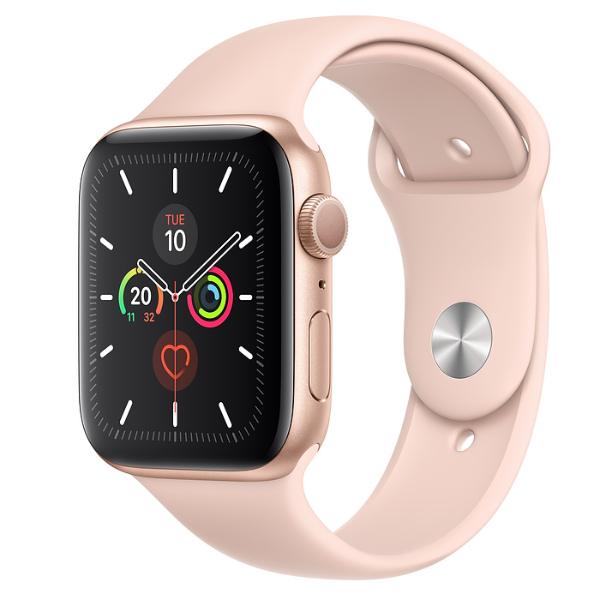 APPLE Watch S5 GPS 44mm Gold/Pink Sand Sport Band