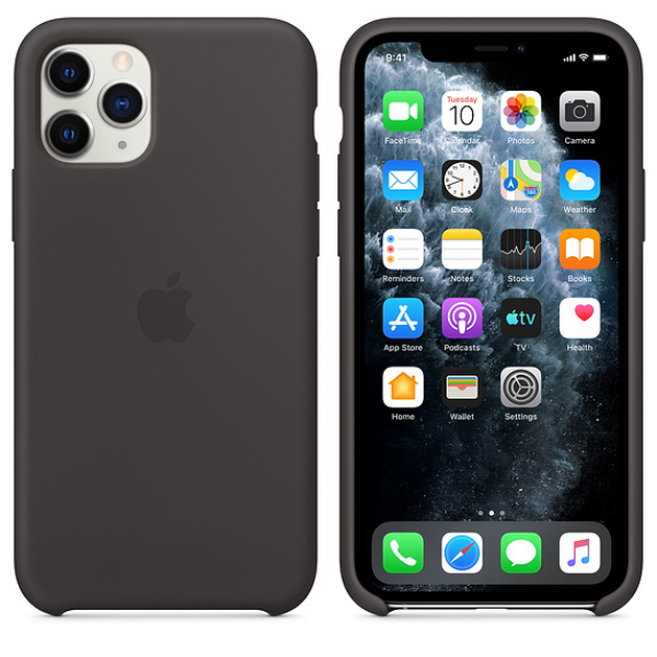 APPLE iPhone 11 Pro Silicone Case Black