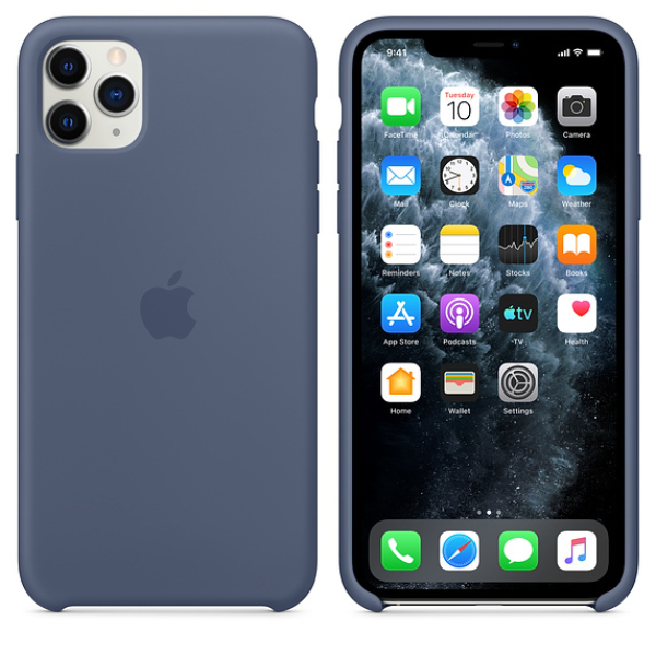 APPLE iPhone 11 Pro Max Silcone Case Alaskan Blue