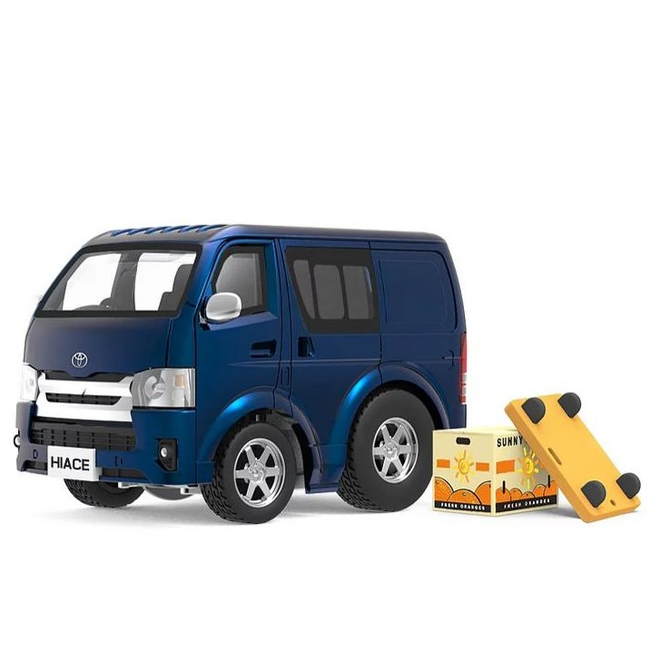 Tiny Q 豐田Hiace 金屬藍