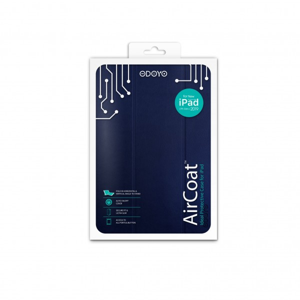 ODOYO AirCoat for iPad 8th Gen 2020 Navy Blue 藍色