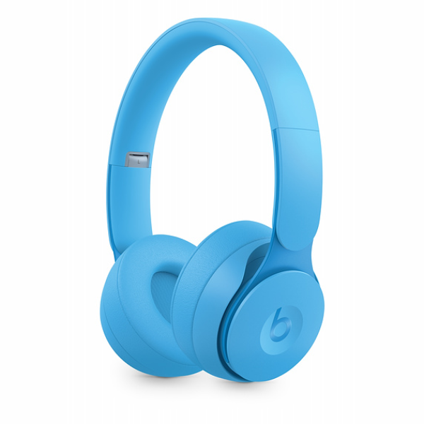 Beats Solo Pro Wireless Headphones-Light Blue -Matte Collecion