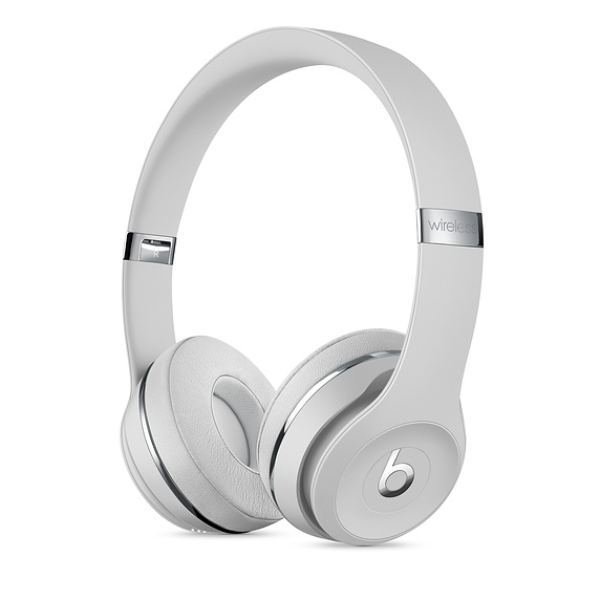 Beats Solo3 Wireless Headphones Stain Silver