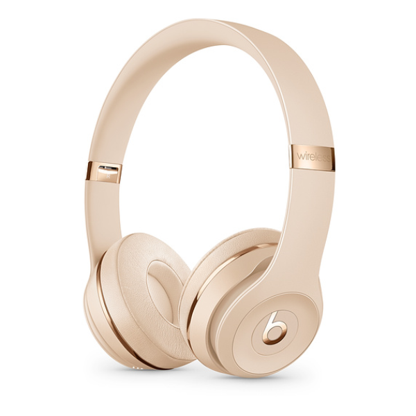 Beats Solo3 Wireless Headphones Stain Gold