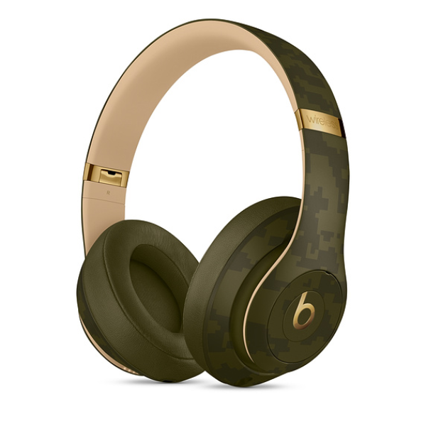 Beats Studio 3 Wireless Headphone-Forest Green Camo Collection