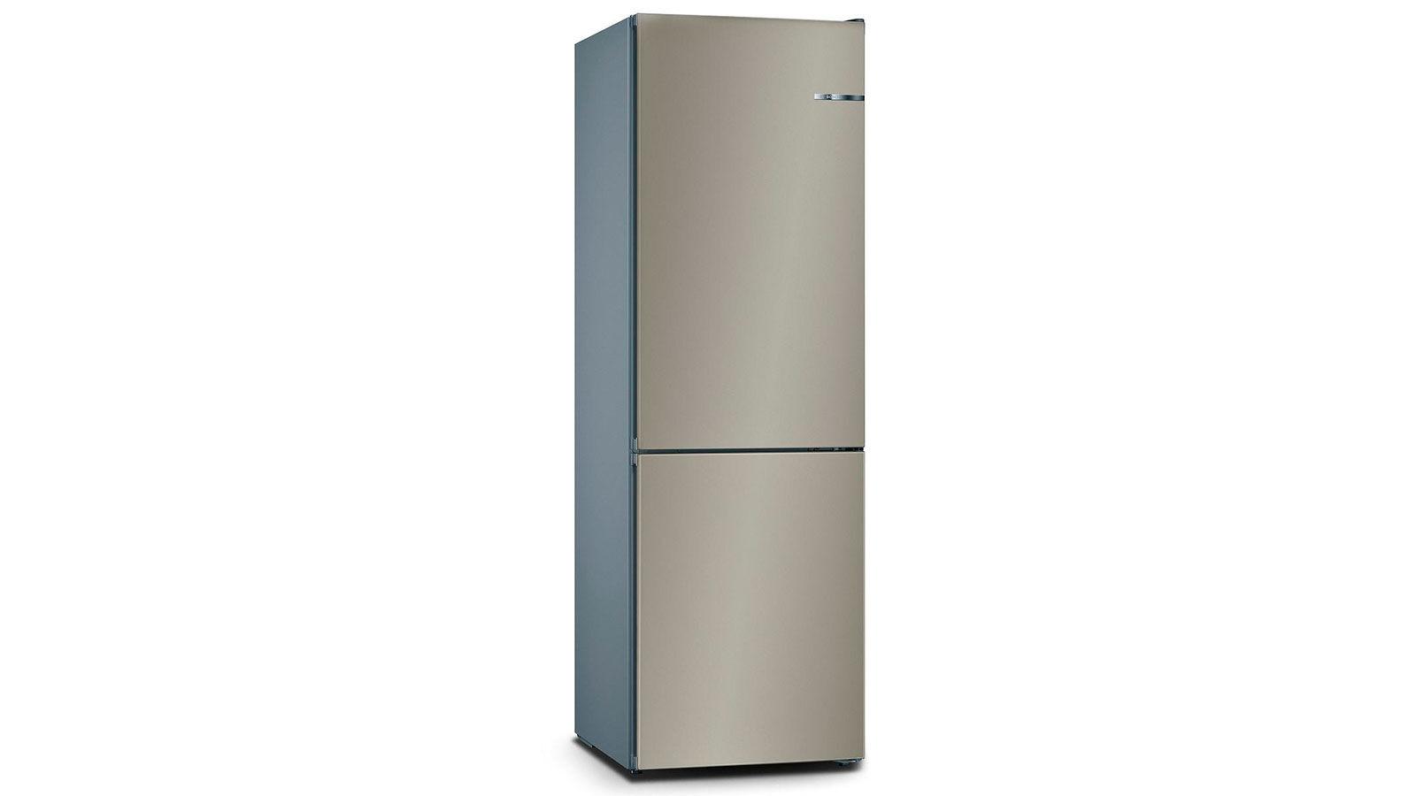 BOSCH 324L雙門雪櫃/配可更換門板 KVN36IC3BK-棕啡色