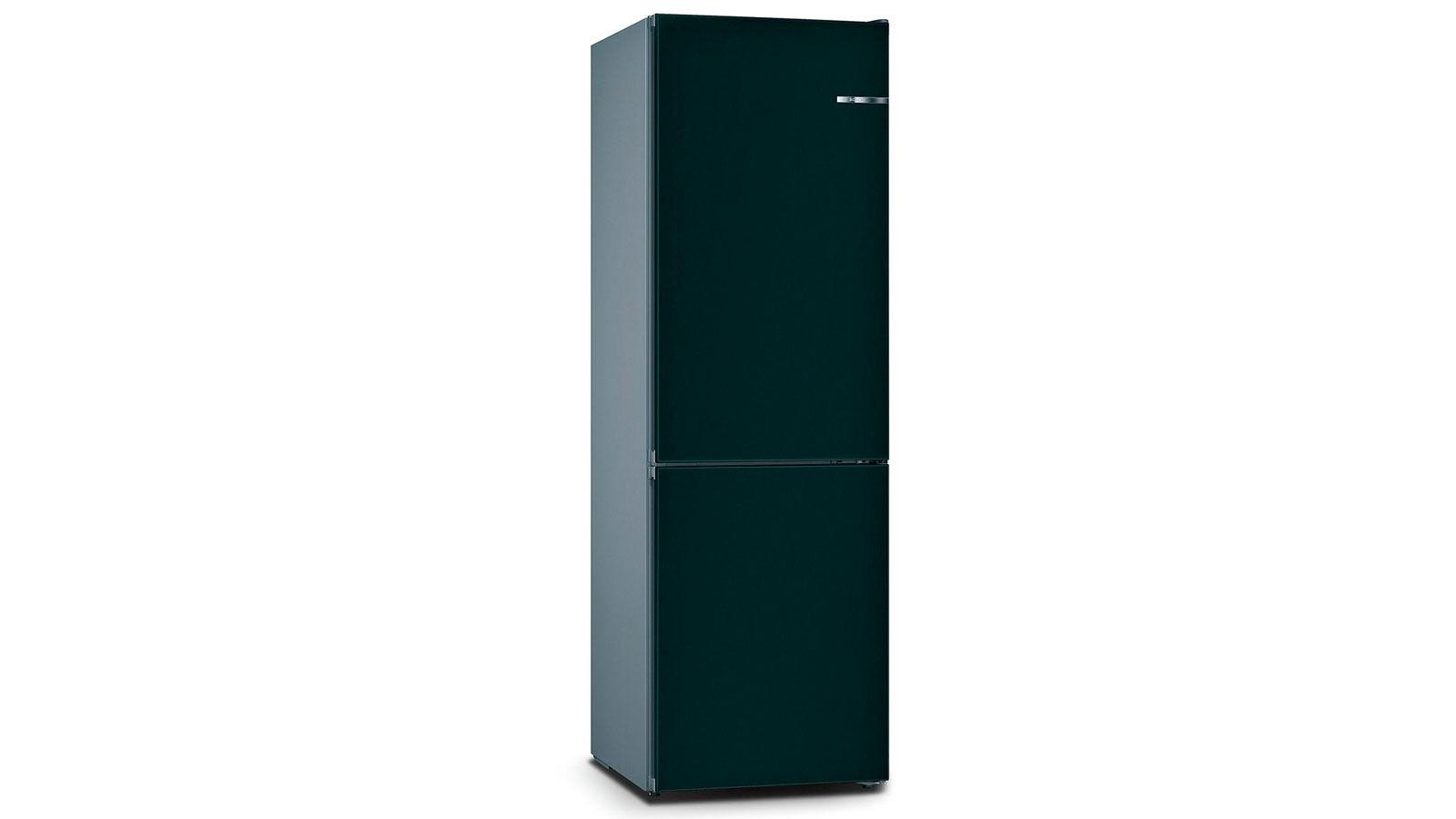 BOSCH 324L雙門雪櫃/配可更換門板 KVN36IU3BK-礦石藍