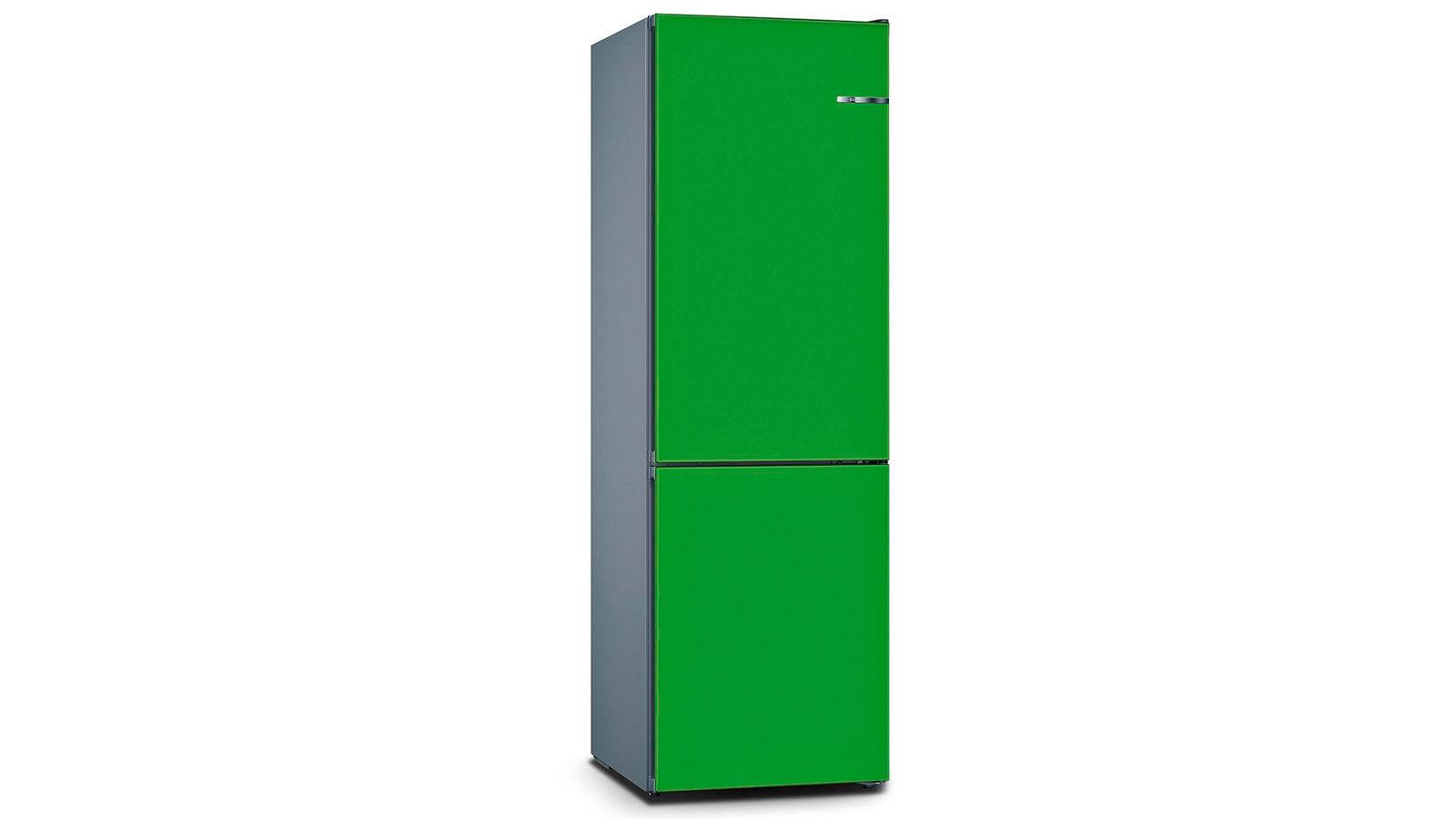 BOSCH 324L雙門雪櫃/配可更換門板 KVN36IJ3BK-薄荷綠