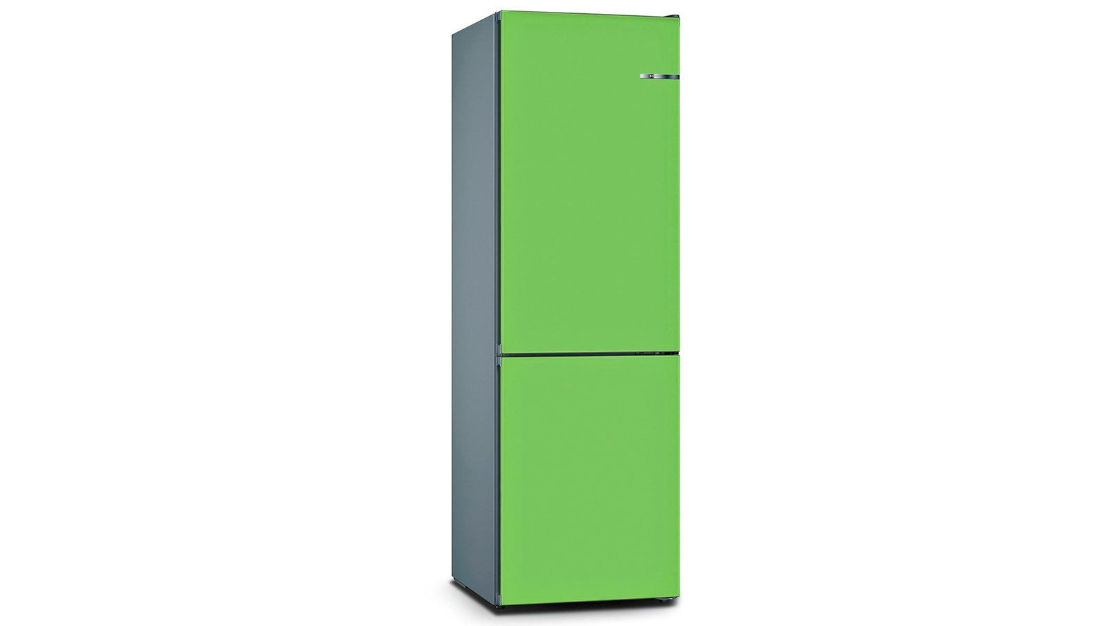 BOSCH 324L雙門雪櫃/配可更換門板 KVN36IH3BK-青檸綠