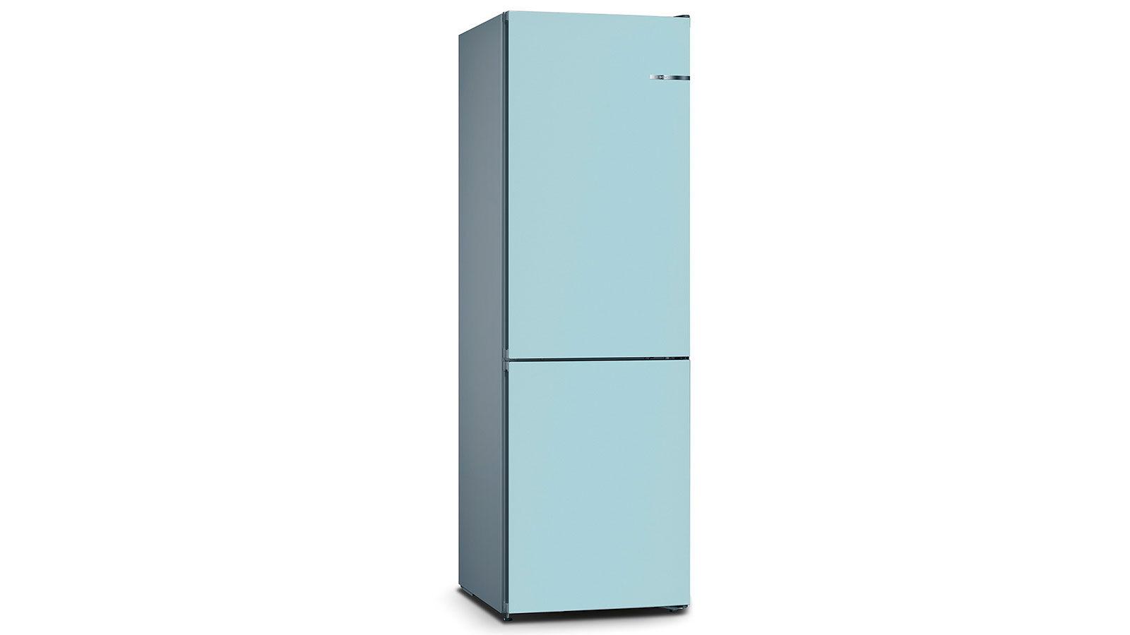 BOSCH 324L雙門雪櫃/配可更換門板 KVN36IT3BK-淡藍