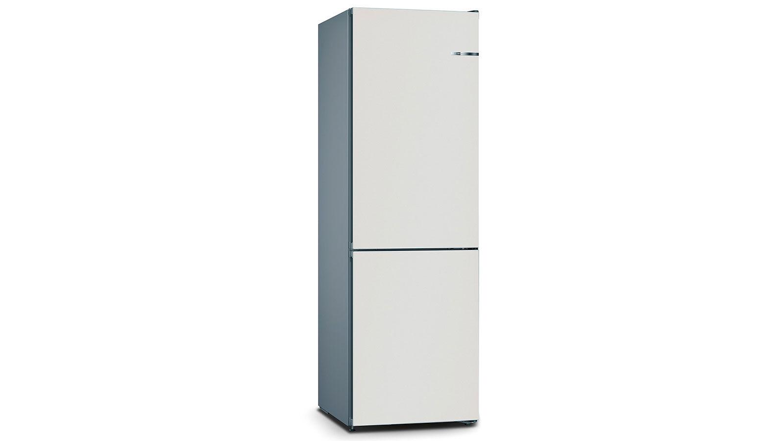 BOSCH 324L雙門雪櫃/配可更換門板 KVN36IV3BK-珍珠白