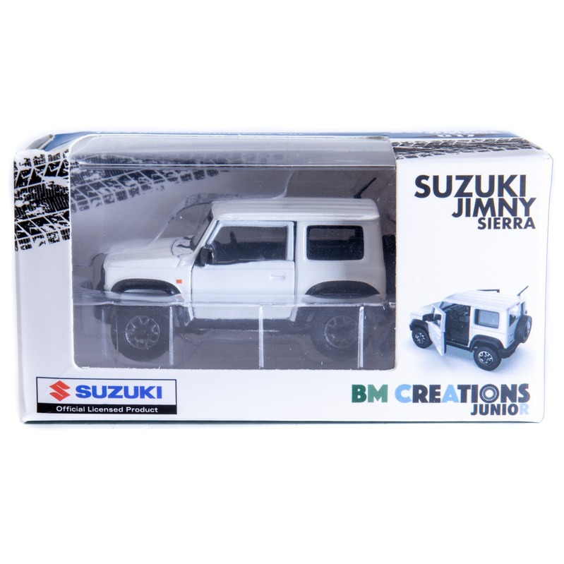 BM Creatio SUZUKI Jimny[JB74] 右駕 1/64 Superior White