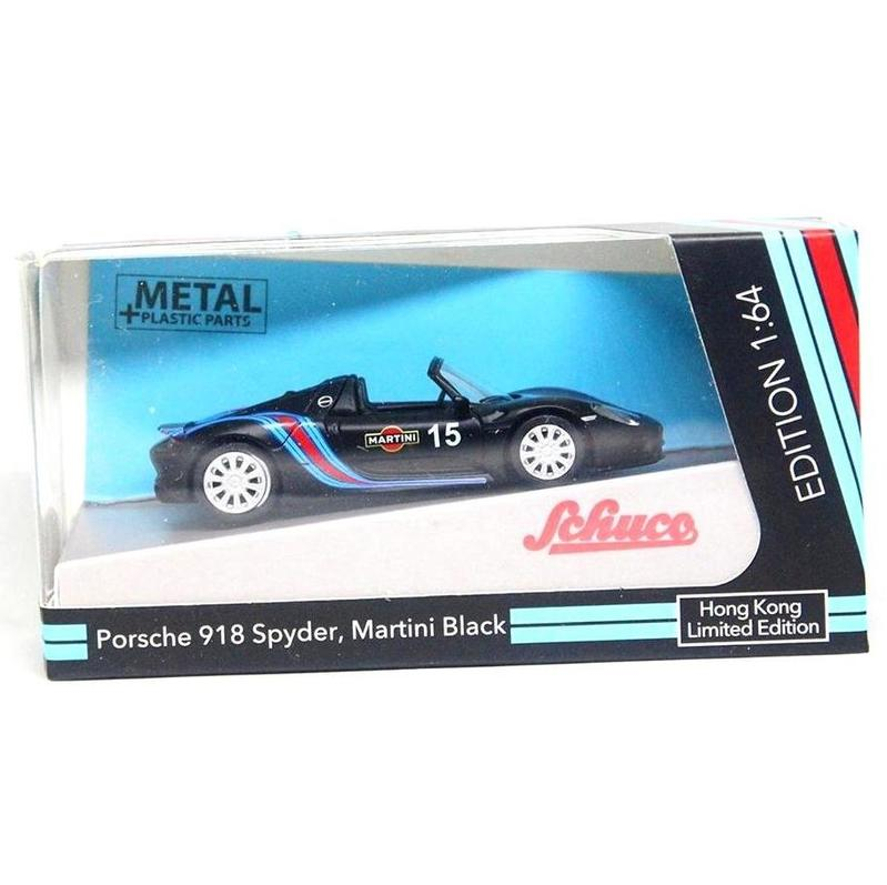 Schuco Porsche 918 Spyder, Martini Black
