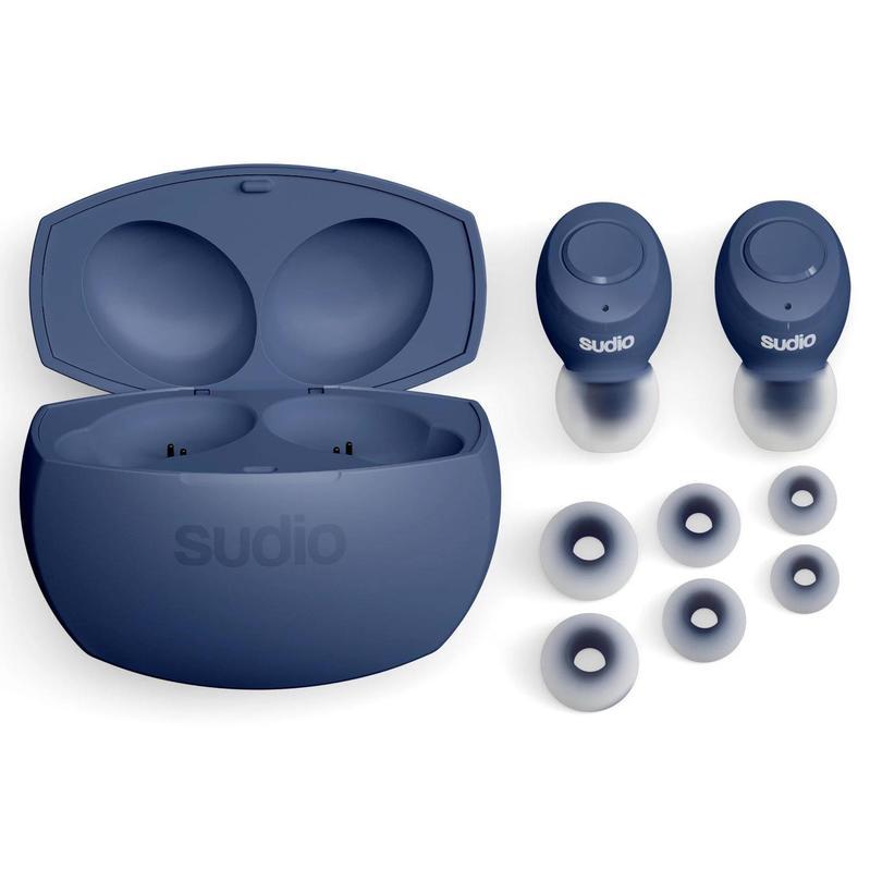 sudio Tolv R Truly Wireless Classic Blue