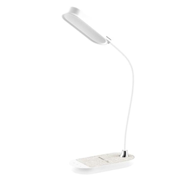 MOMAX Q.LED Flex 無線充電座檯燈[10W] 白色