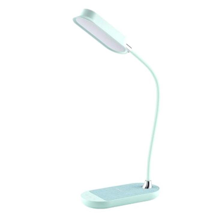 MOMAX Q.LED Flex 無線充電座檯燈[10W] 湖水藍