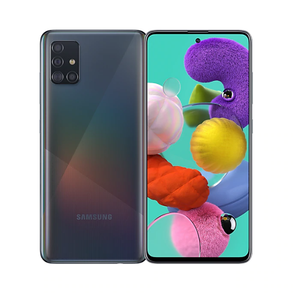 SAMSUNG [i]GALAXY A51 6+128GB 稜鏡黑雙網