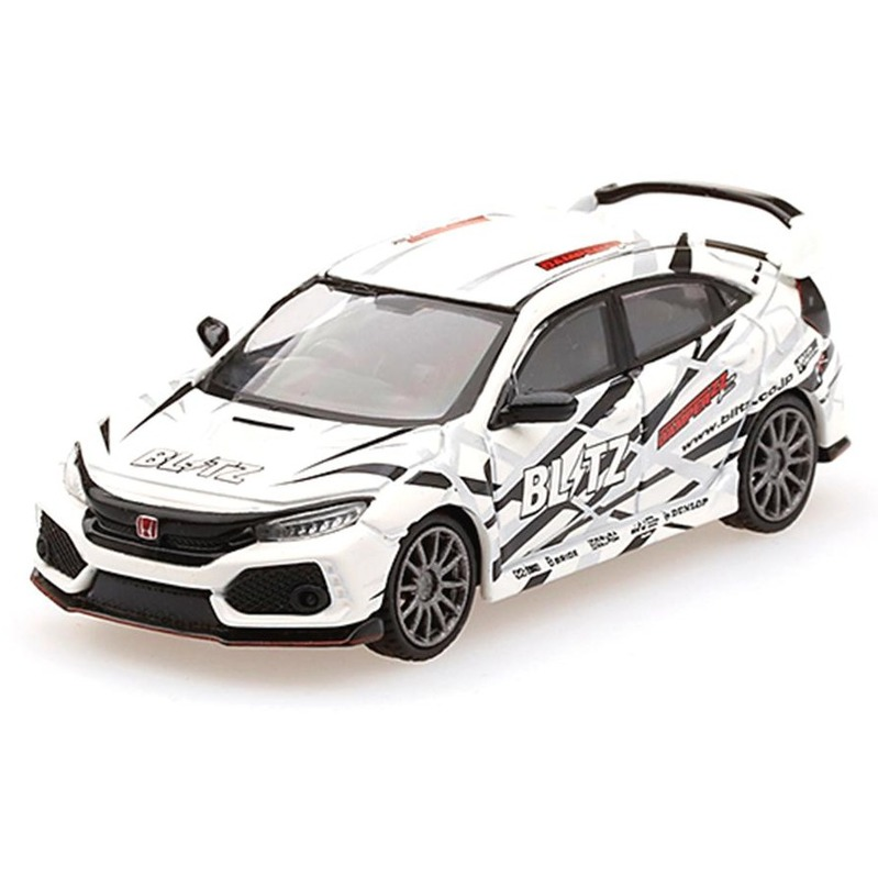MINI GT Honda Civic Type R Blitz Type R White RHD