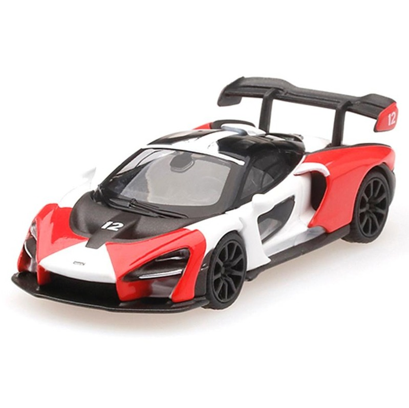 MINI GT McLaren Senna RHD Orange/White