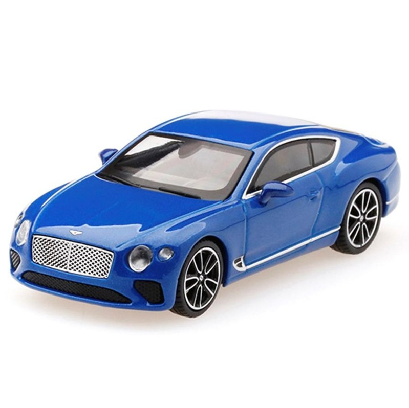 MINI GT Bentley Continental GT 2018 Sequin Blue RHD