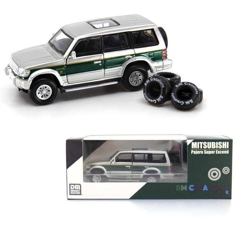 BM Creatio Mitsubishi - 2nd Gen RHD Pajero Green Strip