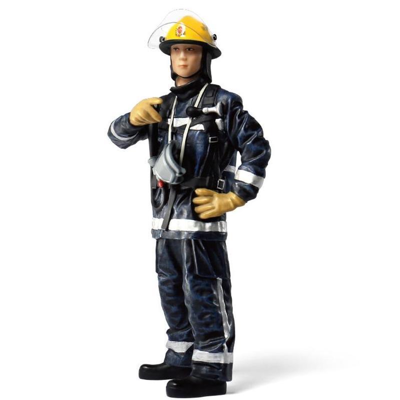 Tiny微影 樹脂公仔 23 1990年代初消防員
