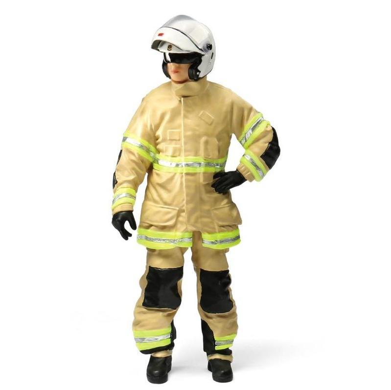 Tiny微影 樹脂公仔 27 電單車消防員
