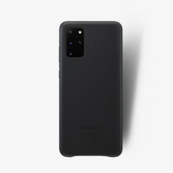 Samsung S20+ 真皮背蓋 Black