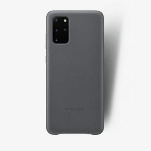 Samsung S20+ 真皮背蓋 Gray