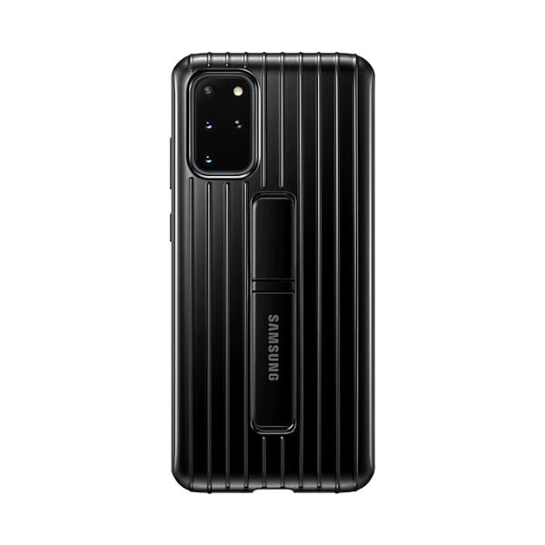 Samsung S20+ 立架式保護皮套 Black