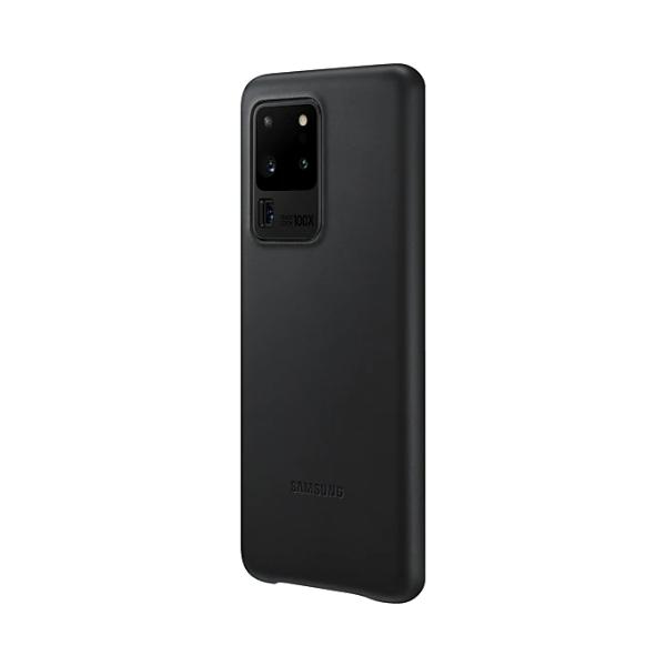 Samsung S20 Ultra 真皮背蓋 Black