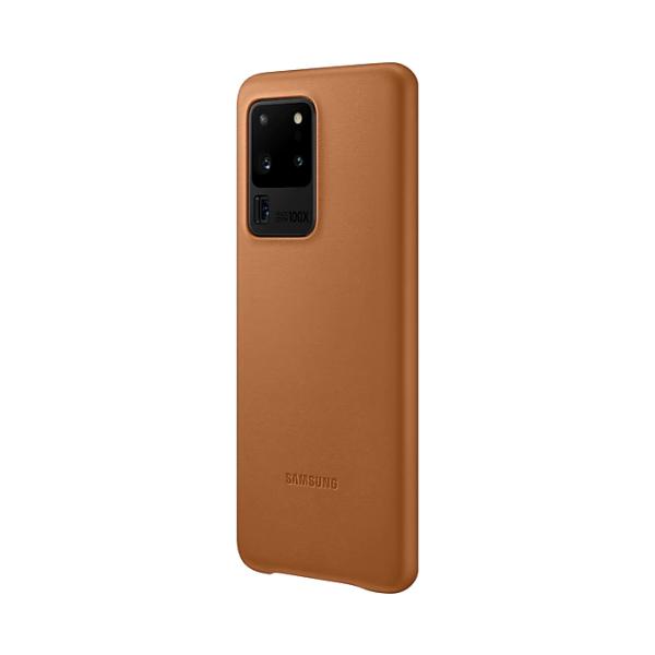 Samsung S20 Ultra 真皮背蓋 Brown