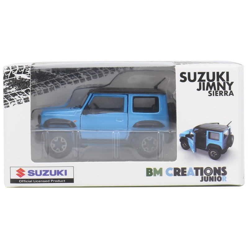 BM Creatio SUZUKI Jimny[JB74] 右駕 1/64 2018 w/Blk Beisk Blue Metallic