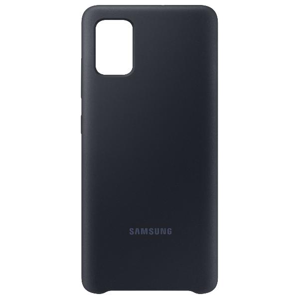Samsung A51 Silicone cover 黑色
