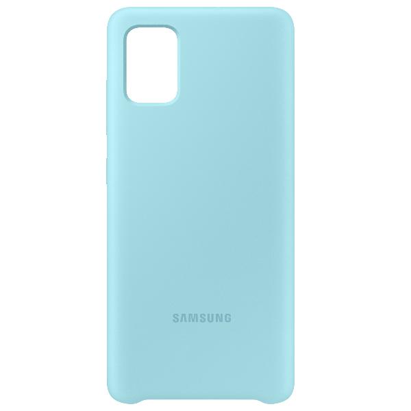 Samsung A51 Silicone cover 藍色