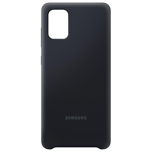 Samsung A71 Silicone cover 黑色