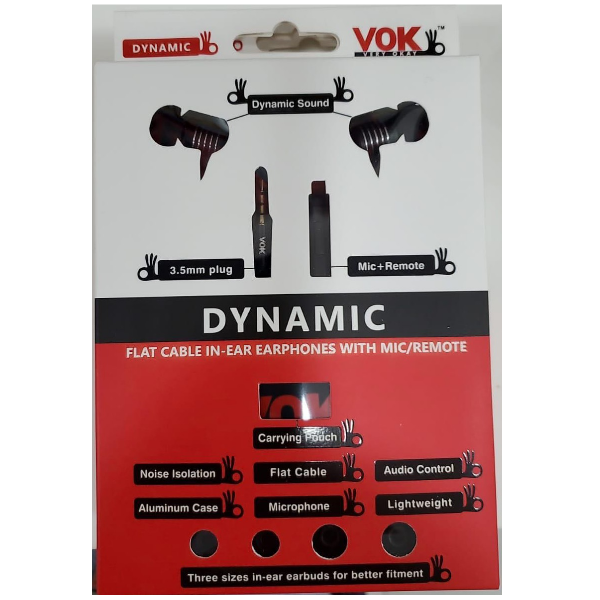 VOK Dynamic  Headphones