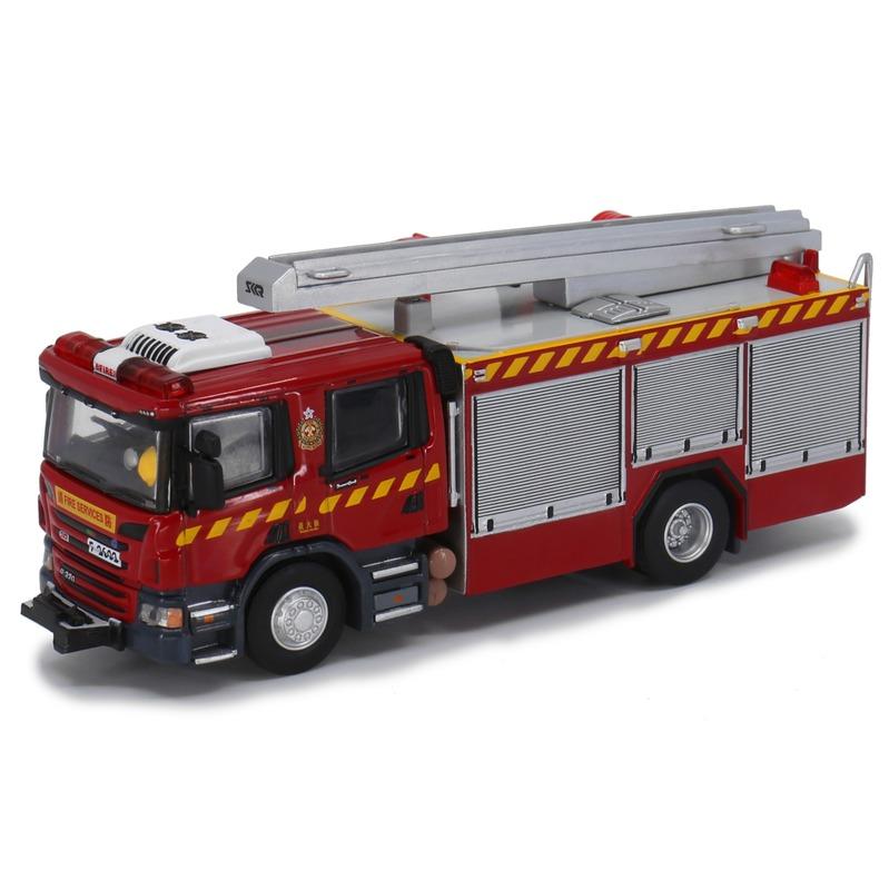 Tiny微影 197 Scania 消防處泵車