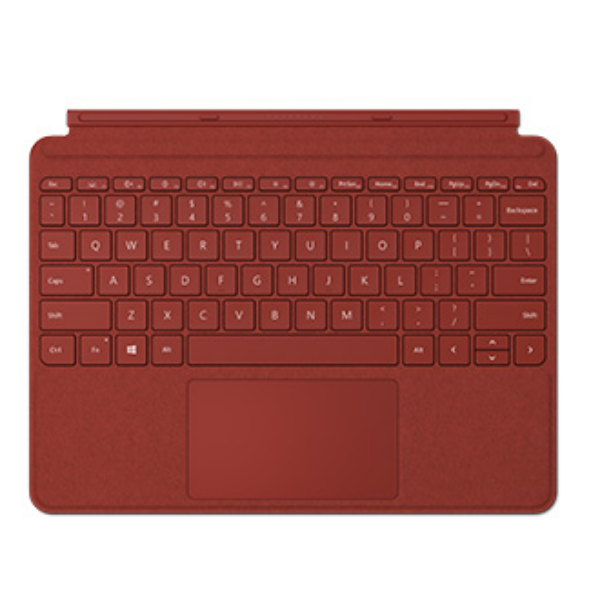 Microsoft Surface Go Cover Eng poppy red