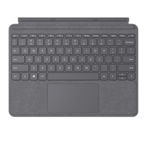Microsoft Surface Go Cover Eng LT Charcoal