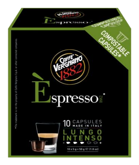 VERGNANO 1882均衡咖啡膠囊/小 LUNGO