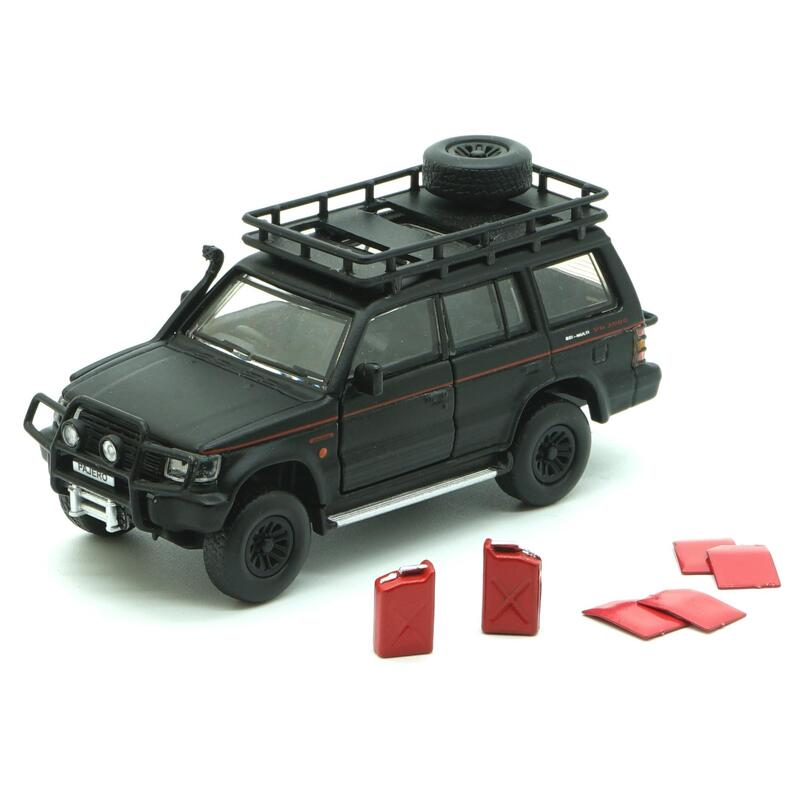 BM Creatio Mitsubishi Pajero 2nd Gen Jungle Pack Matte Black RHD