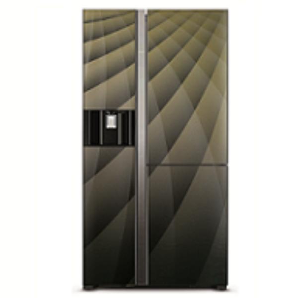 HITACHI 547L三門對門式雪櫃 RM700VAG9HXDIA閃玻璃