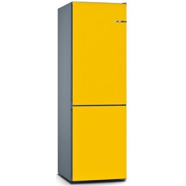 BOSCH 324L雙門雪櫃/可更換門板 KVN36IF3CK-朝日黃色