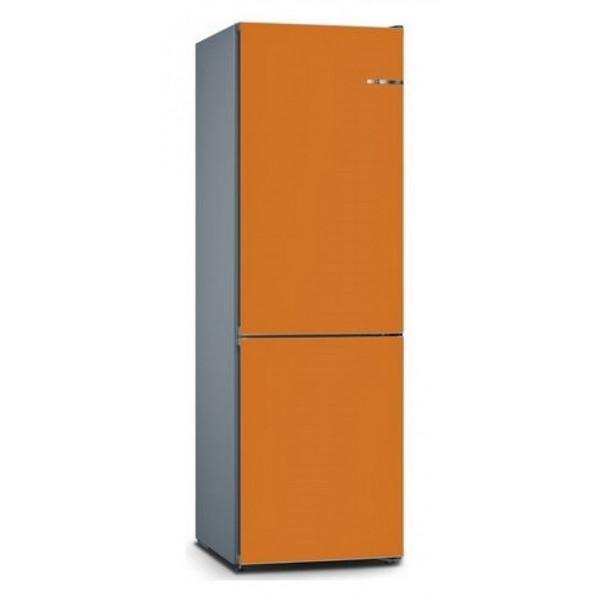 BOSCH 324L雙門雪櫃/可更換門板 KVN36IO3CK-鮮橙色