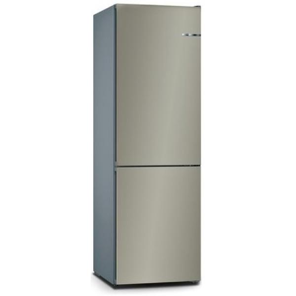 BOSCH 324L雙門雪櫃/可更換門板 KVN36IC3CK-棕啡色