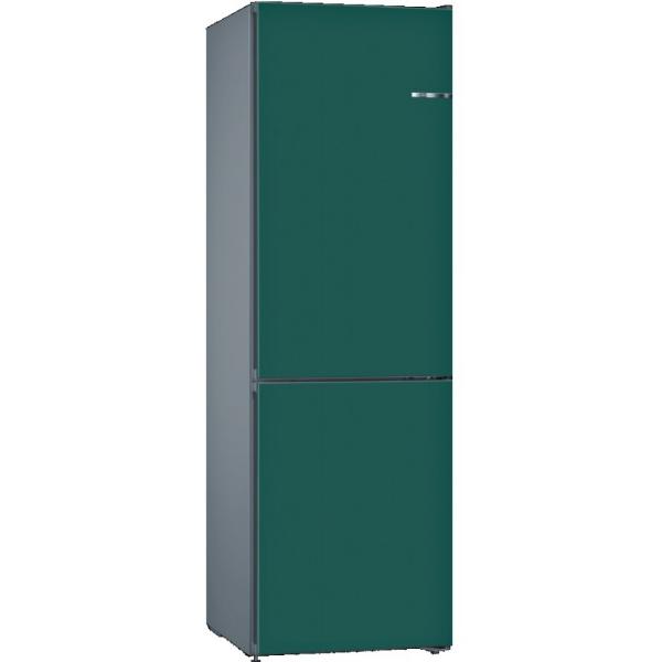BOSCH 324L雙門雪櫃/可更換門板 KVN36IU3CK-礦石藍