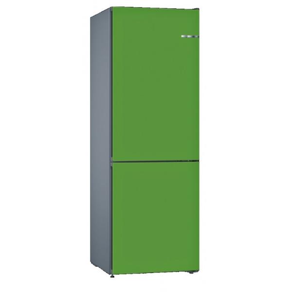 BOSCH 324L雙門雪櫃/可更換門板 KVN36IJ3CK-薄荷綠