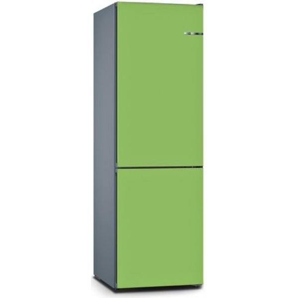 BOSCH 324L雙門雪櫃/可更換門板 KVN36IH3DK-青檸綠