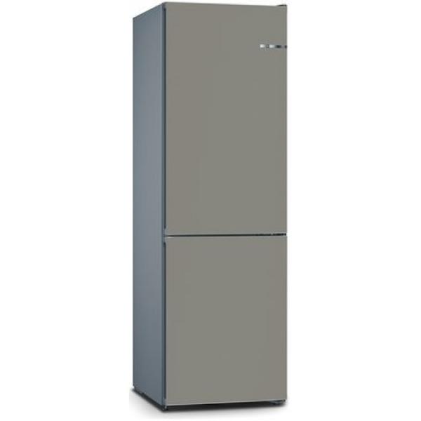 BOSCH 324L雙門雪櫃/可更換門板 KVN36IG3EK-礦石灰